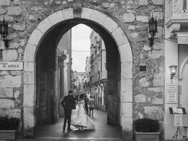 Il matrimonio di Chiara e Luca a Taormina, Messina 36