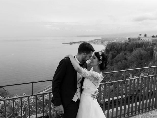 Il matrimonio di Chiara e Luca a Taormina, Messina 37