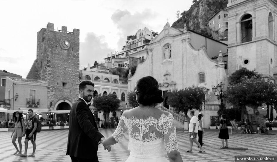 Il matrimonio di Chiara e Luca a Taormina, Messina