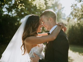 Le nozze di Crystal e Jhonny