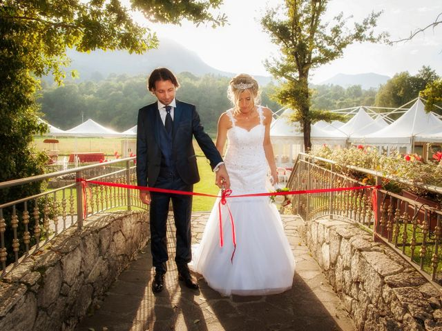 Il matrimonio di Carlo e Tiziana a Cassano Valcuvia, Varese 13
