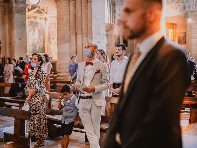 Il matrimonio di Caterina e Valerio a Rocca Susella, Pavia 14