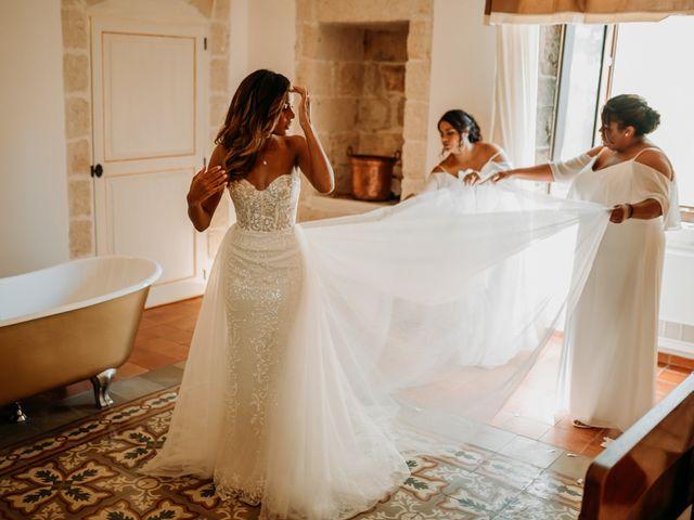 Il matrimonio di Jhonny e Crystal a Conversano, Bari 24