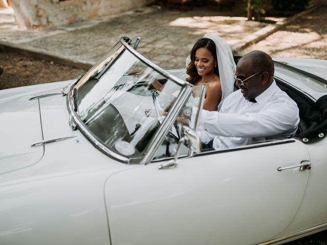 Il matrimonio di Jhonny e Crystal a Conversano, Bari 28