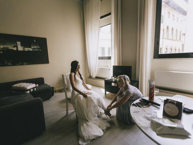 Il matrimonio di Rob e Siobhan a Firenze, Firenze 19