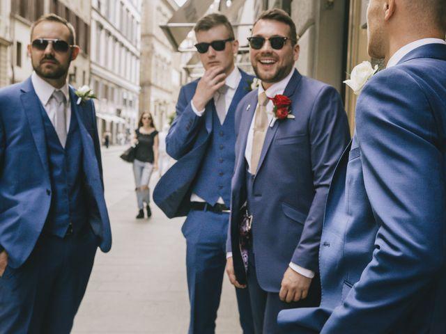 Il matrimonio di Rob e Siobhan a Firenze, Firenze 20
