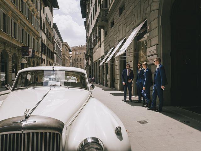 Il matrimonio di Rob e Siobhan a Firenze, Firenze 22
