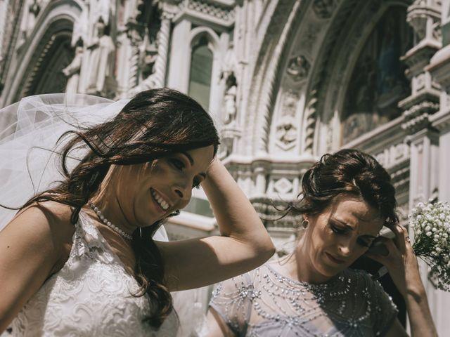 Il matrimonio di Rob e Siobhan a Firenze, Firenze 29