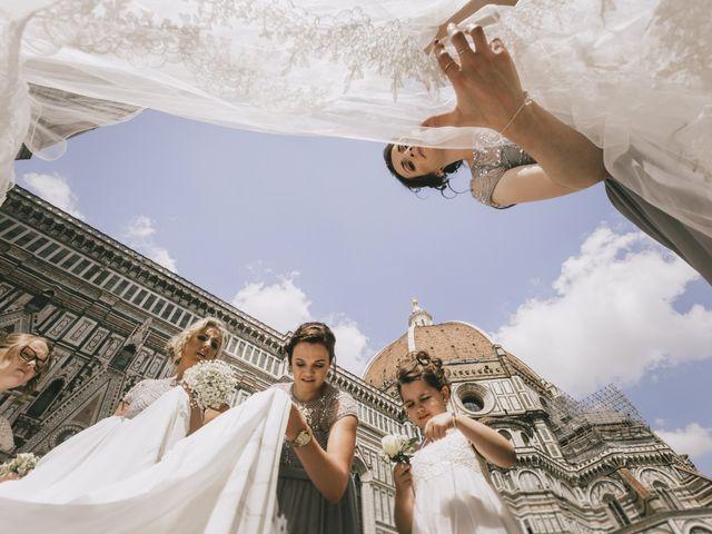Il matrimonio di Rob e Siobhan a Firenze, Firenze 31