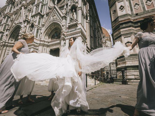 Il matrimonio di Rob e Siobhan a Firenze, Firenze 33