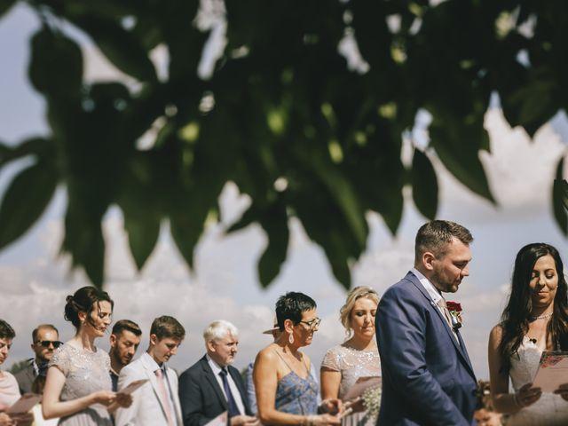 Il matrimonio di Rob e Siobhan a Firenze, Firenze 44