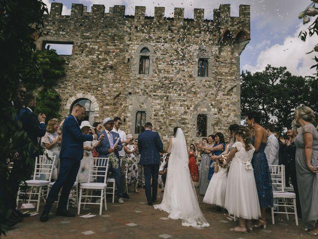 Il matrimonio di Rob e Siobhan a Firenze, Firenze 48