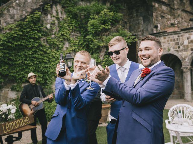 Il matrimonio di Rob e Siobhan a Firenze, Firenze 53
