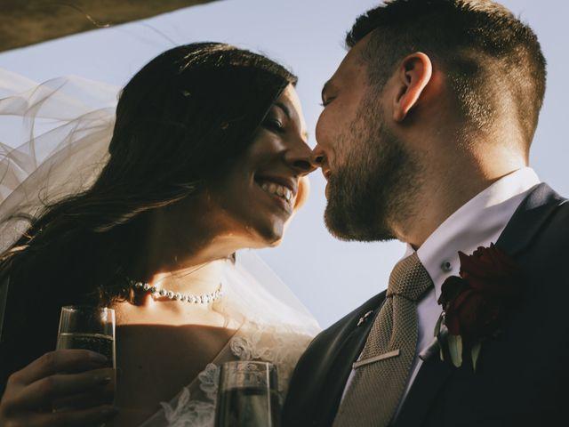 Le nozze di Siobhan e Rob