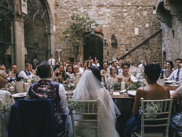 Il matrimonio di Rob e Siobhan a Firenze, Firenze 70