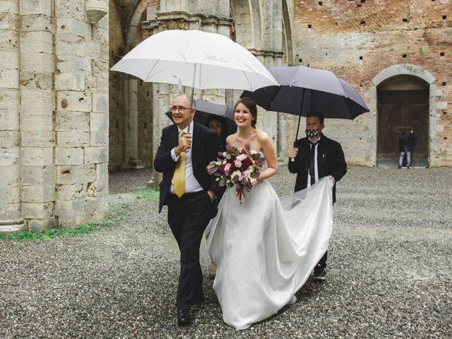 Il matrimonio di Teresa e Niccolò a Siena, Siena 19
