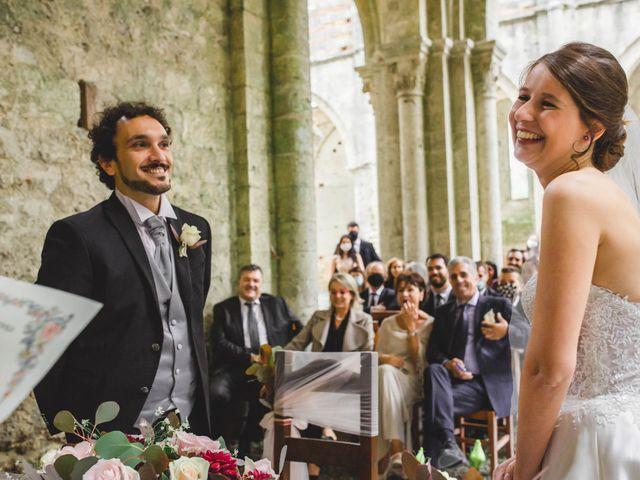Il matrimonio di Teresa e Niccolò a Siena, Siena 20