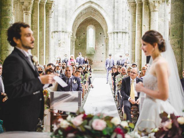 Il matrimonio di Teresa e Niccolò a Siena, Siena 21