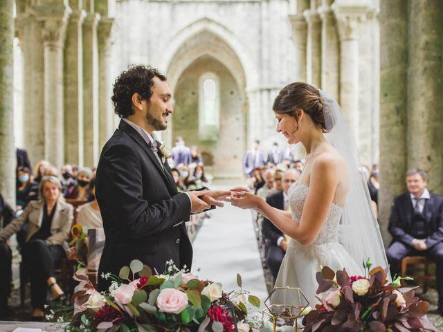 Il matrimonio di Teresa e Niccolò a Siena, Siena 23