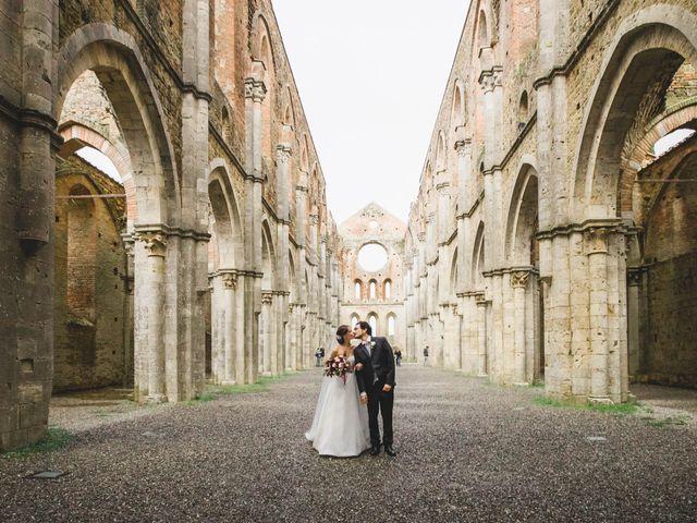 Il matrimonio di Teresa e Niccolò a Siena, Siena 34