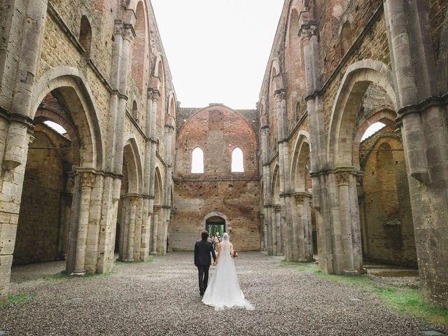 Il matrimonio di Teresa e Niccolò a Siena, Siena 36