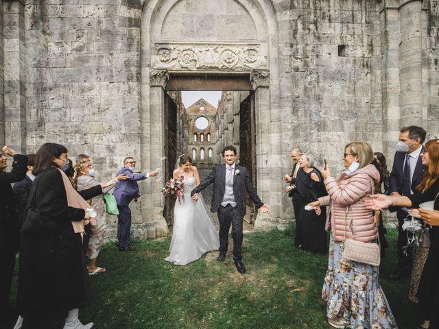Il matrimonio di Teresa e Niccolò a Siena, Siena 39