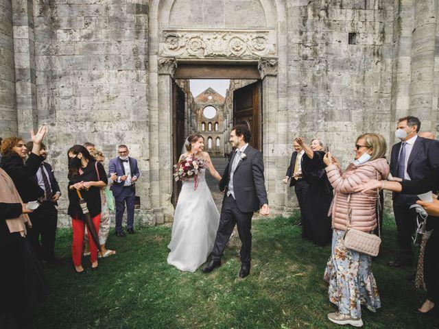 Il matrimonio di Teresa e Niccolò a Siena, Siena 40
