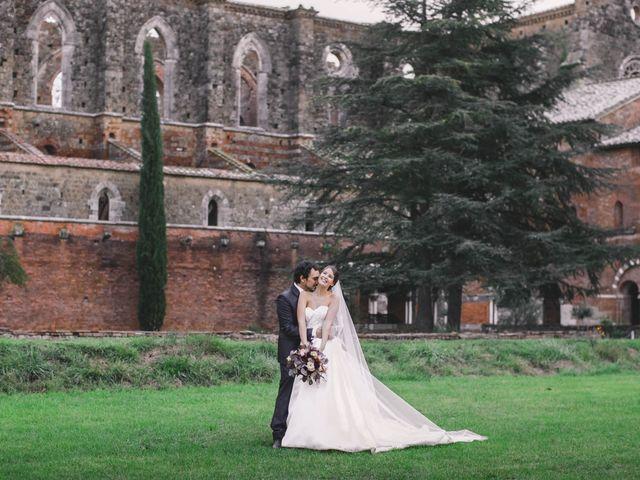Il matrimonio di Teresa e Niccolò a Siena, Siena 48
