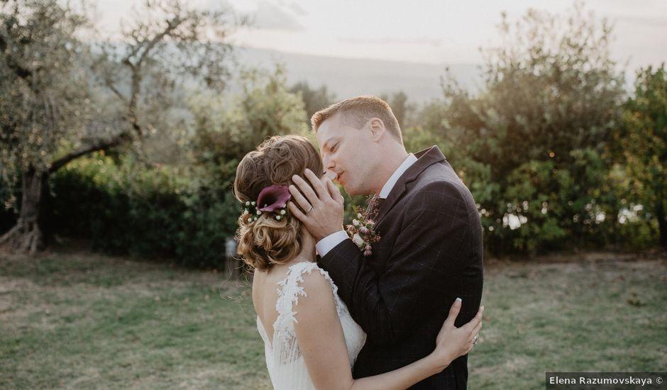 Il matrimonio di Lorenz e Olga a Barberino Val d'Elsa, Firenze