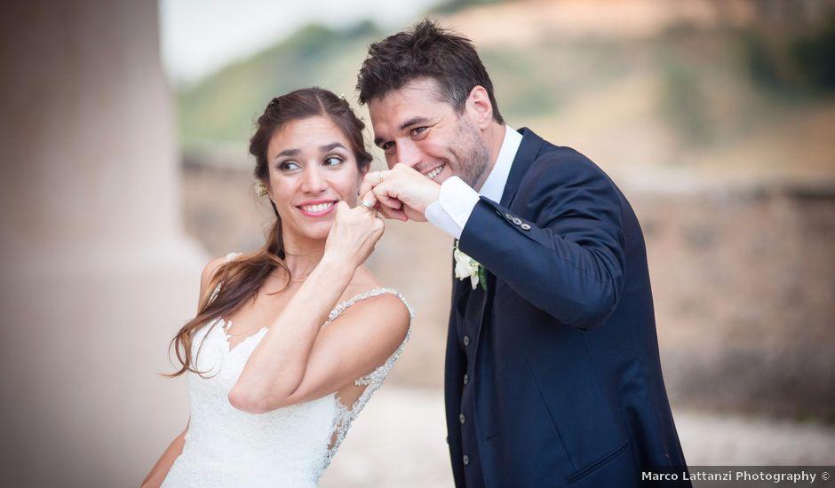 Il matrimonio di Marco e Maria a Spoleto, Perugia