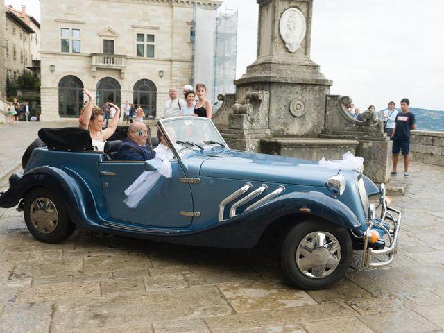 Il matrimonio di Luca e Lisa a San Marino, San Marino 10