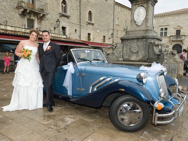 Il matrimonio di Luca e Lisa a San Marino, San Marino 12