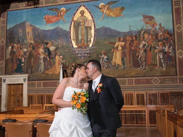 Il matrimonio di Luca e Lisa a San Marino, San Marino 14