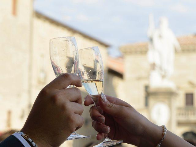 Il matrimonio di Luca e Lisa a San Marino, San Marino 21