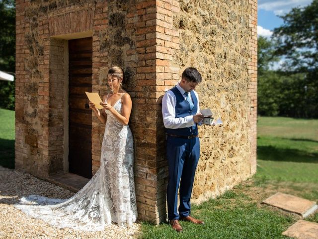 Il matrimonio di Paul e Chiara a Chiusdino, Siena 10