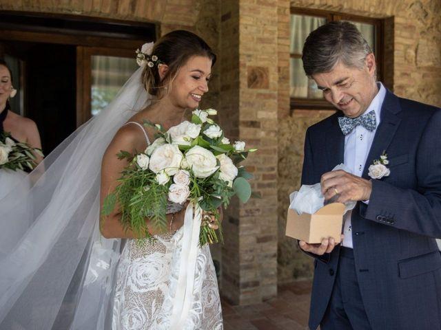 Il matrimonio di Paul e Chiara a Chiusdino, Siena 11