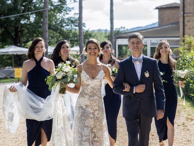 Il matrimonio di Paul e Chiara a Chiusdino, Siena 13
