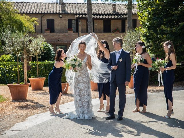 Il matrimonio di Paul e Chiara a Chiusdino, Siena 14