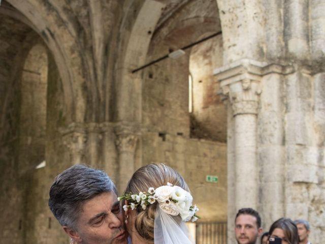 Il matrimonio di Paul e Chiara a Chiusdino, Siena 19