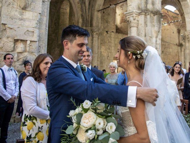 Il matrimonio di Paul e Chiara a Chiusdino, Siena 20