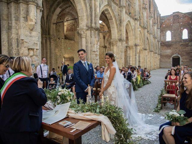 Il matrimonio di Paul e Chiara a Chiusdino, Siena 21