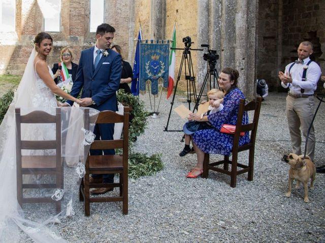 Il matrimonio di Paul e Chiara a Chiusdino, Siena 28