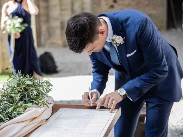 Il matrimonio di Paul e Chiara a Chiusdino, Siena 33