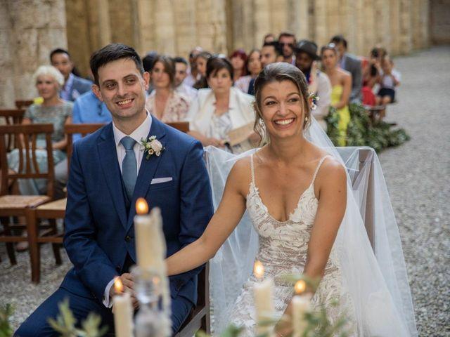 Il matrimonio di Paul e Chiara a Chiusdino, Siena 36