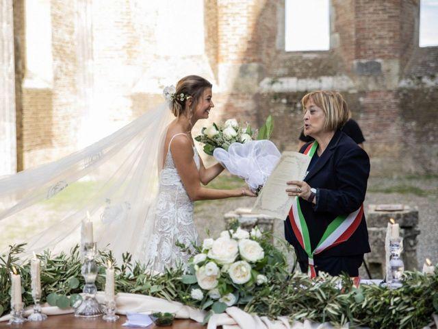 Il matrimonio di Paul e Chiara a Chiusdino, Siena 37