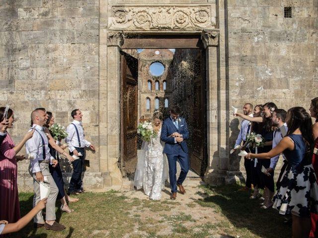 Il matrimonio di Paul e Chiara a Chiusdino, Siena 39