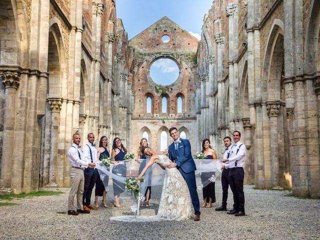 Il matrimonio di Paul e Chiara a Chiusdino, Siena 40