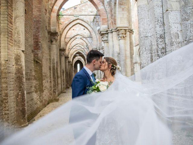 Il matrimonio di Paul e Chiara a Chiusdino, Siena 1