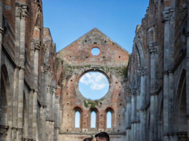 Il matrimonio di Paul e Chiara a Chiusdino, Siena 2