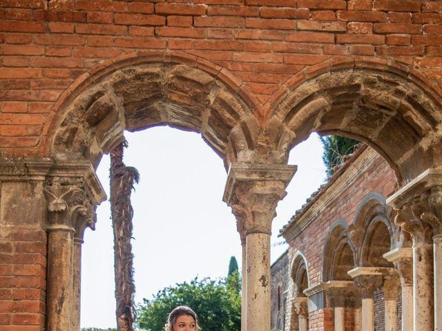 Il matrimonio di Paul e Chiara a Chiusdino, Siena 41